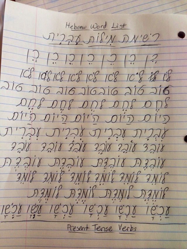 writing hebrew If you'r planning to write hebrew - cursive everybody writes in cursive and unlike english, there is no such thing as capital letters in hebrew, so the 'print.