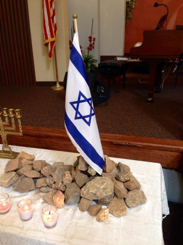 Yom HaShoah Display