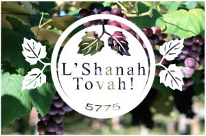 L'Shanah Tovah Grapes Logo